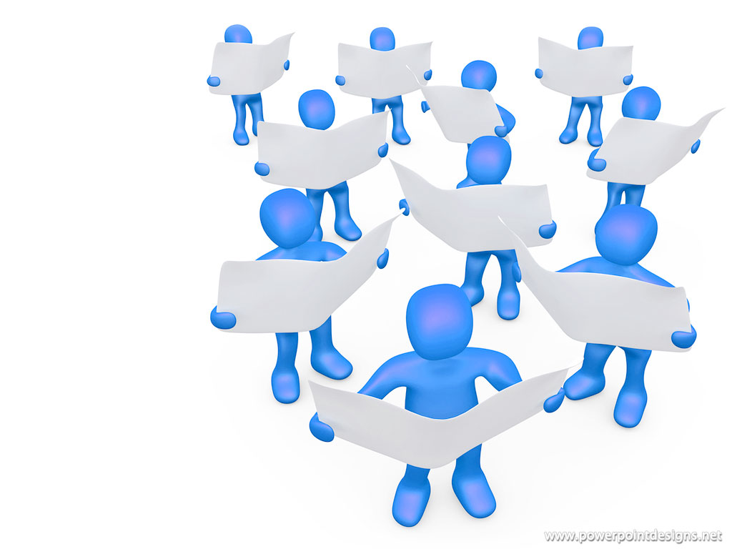 Powerpoint 3d People Clipart.