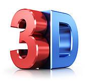 Clip Art of 3D cinema visitor k5526042.