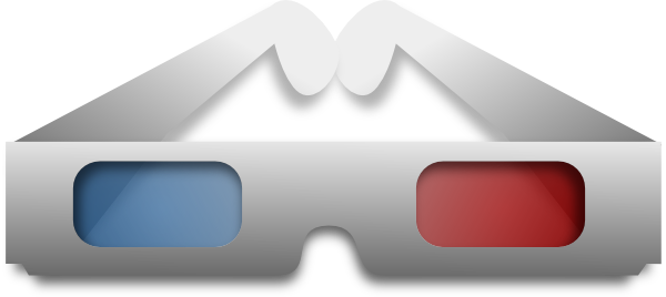3d Movie Glasses Clip Art at Clker.com.