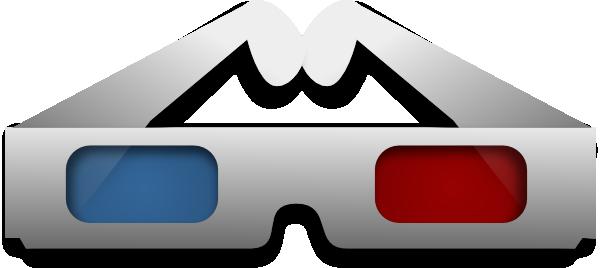 3d Movie Glasses Clip Art at Clker.com.
