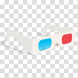 Movies, white D glasses art transparent background PNG.