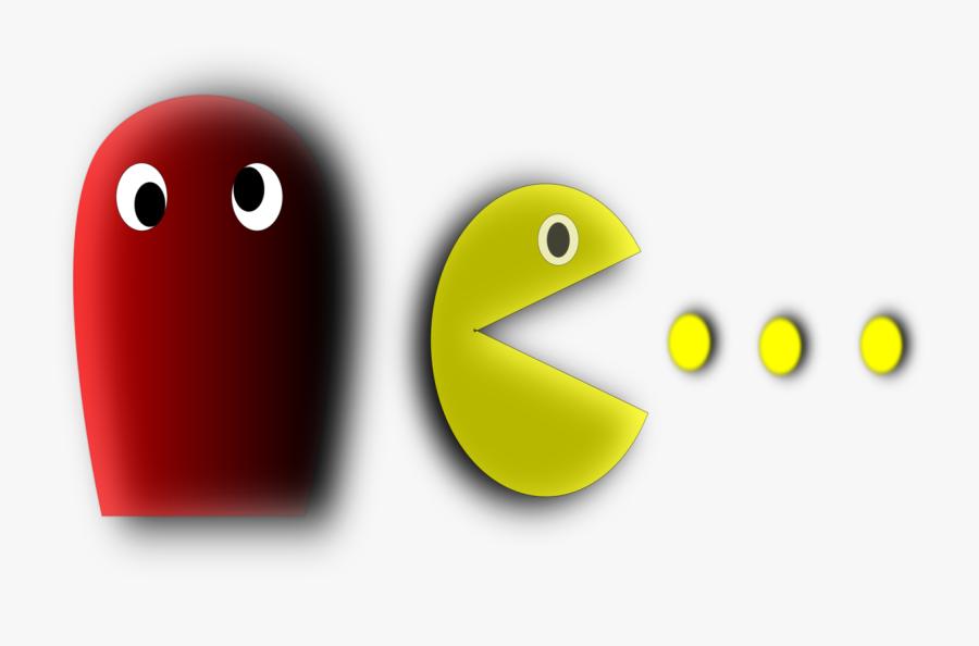 Transparent Pacman Clipart.