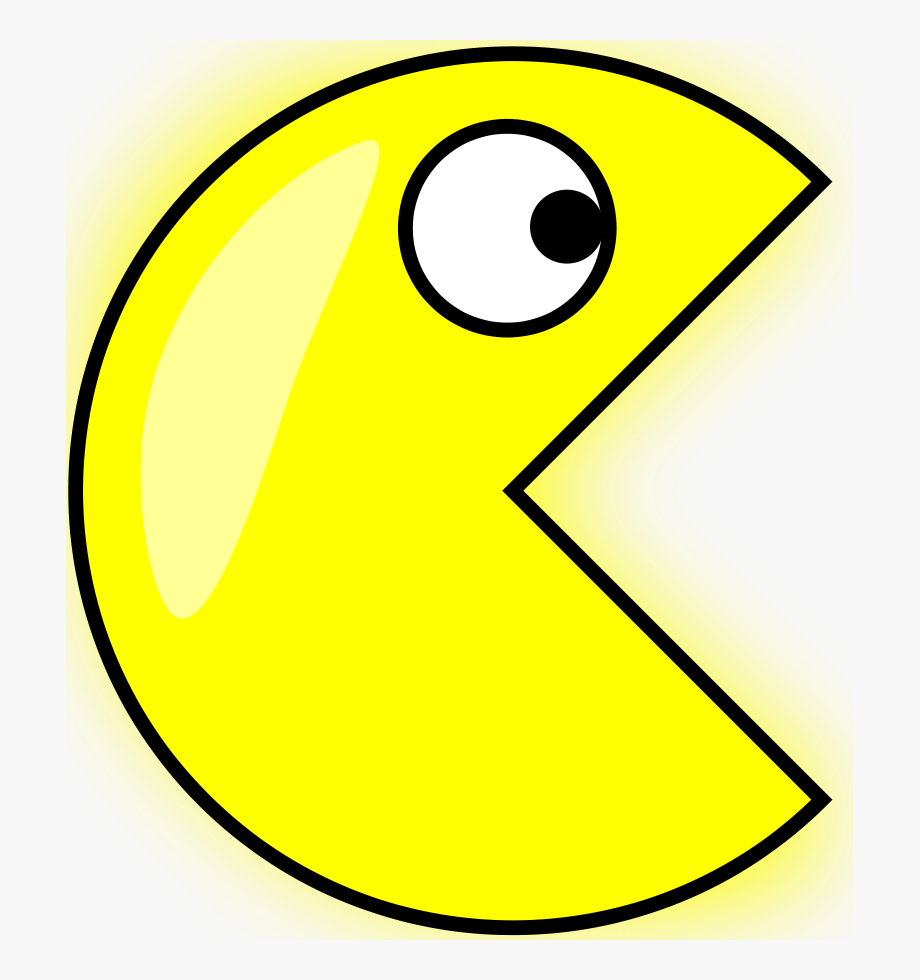 Angel Pacman Clipart, Vector Clip Art Online, Royalty.
