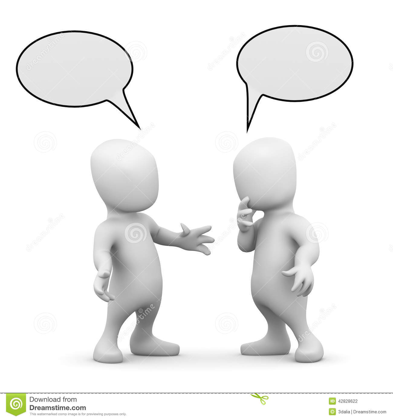 People Talking To Each Other Clipart.