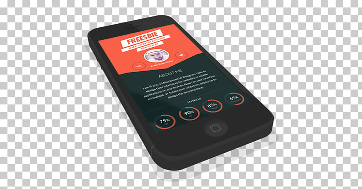 Mockup iPhone 5 Smartphone Apple, 3D Mockup PNG clipart.