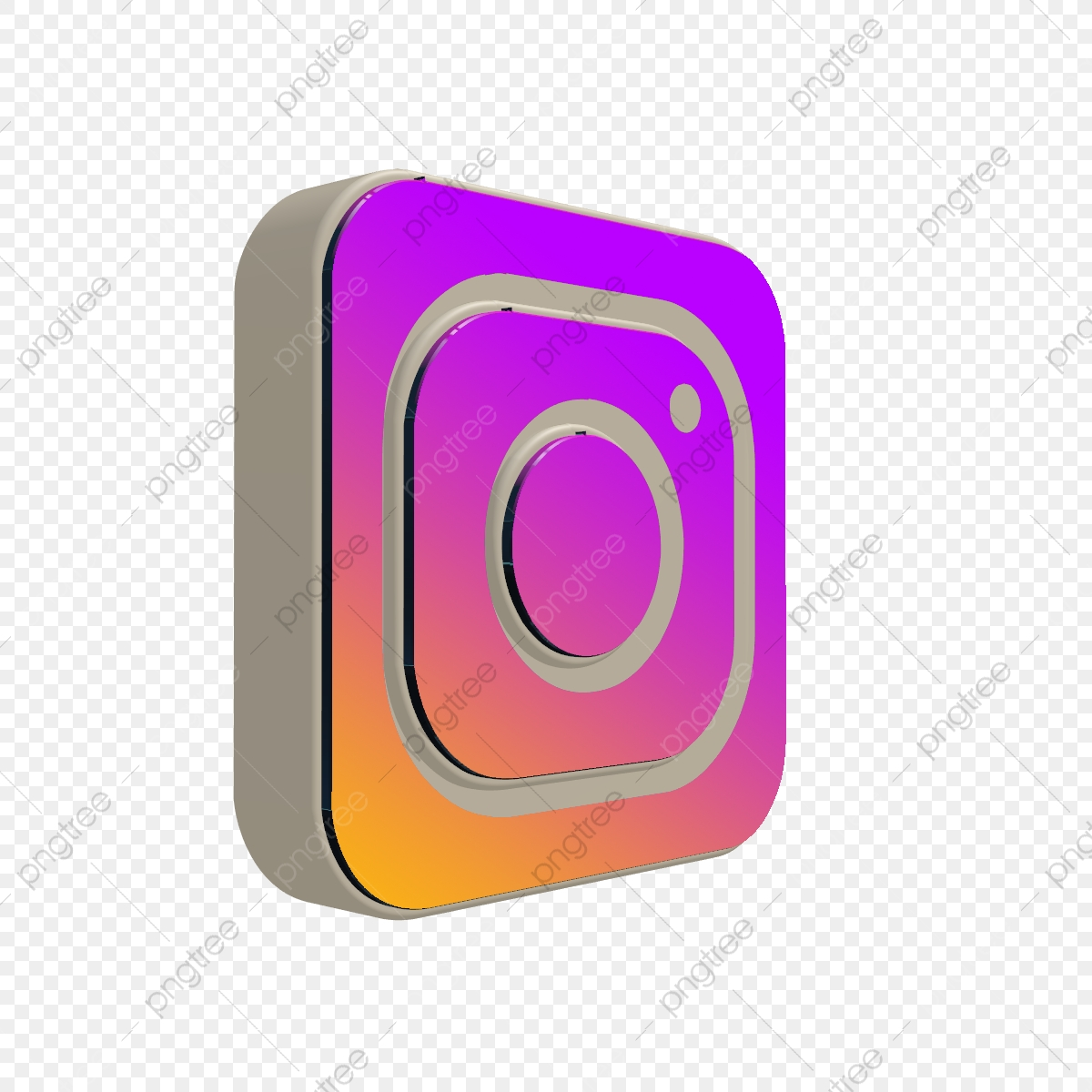 3d Instagram Icon Instagram Logo, 3d, Instagram, Icon PNG.