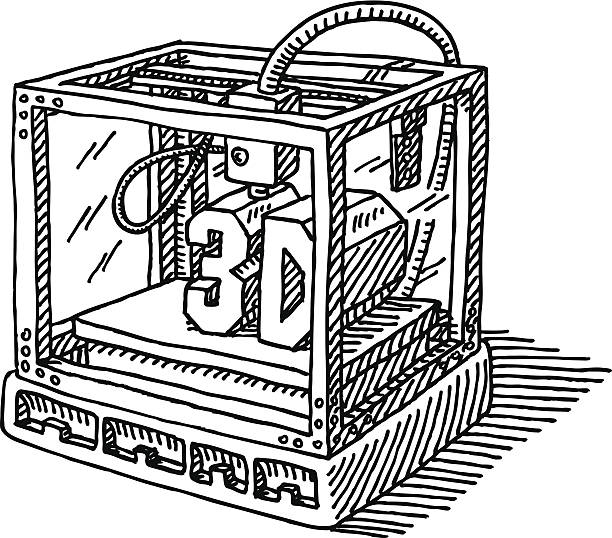 3d Printer Clipart.
