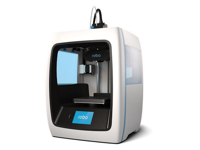 Robo 3D C2 Compact Smart 3D Printer.