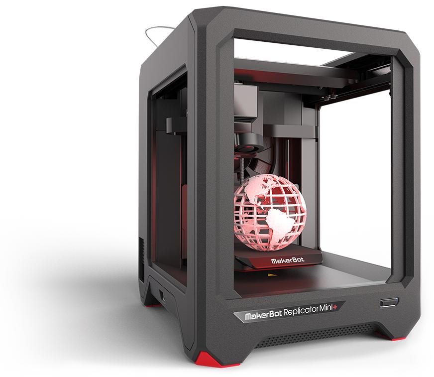 Replicator Mini+ 3D Printer.