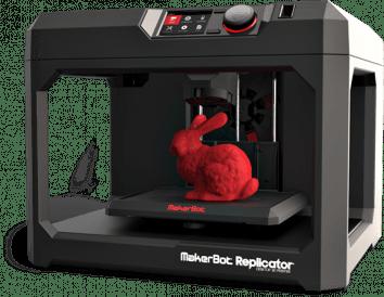 3D Printer Makerbot Replicator 5th Generation transparent PNG.