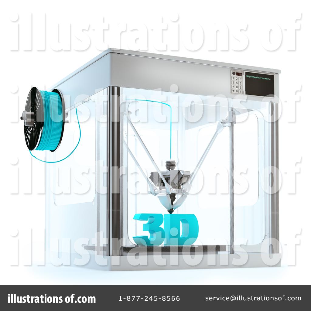 3d Printer Clipart #1408340.