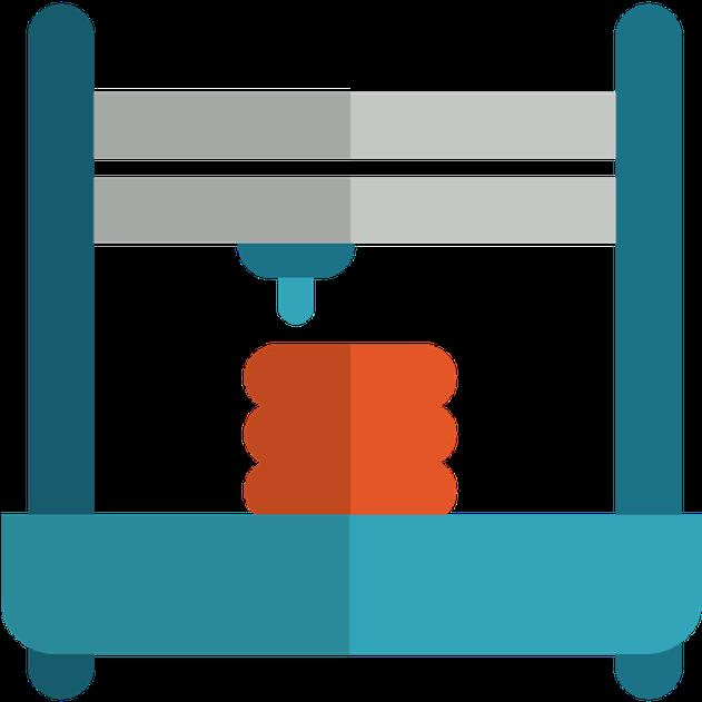 3d Printer Free Vector Icon Designed By Freepik.