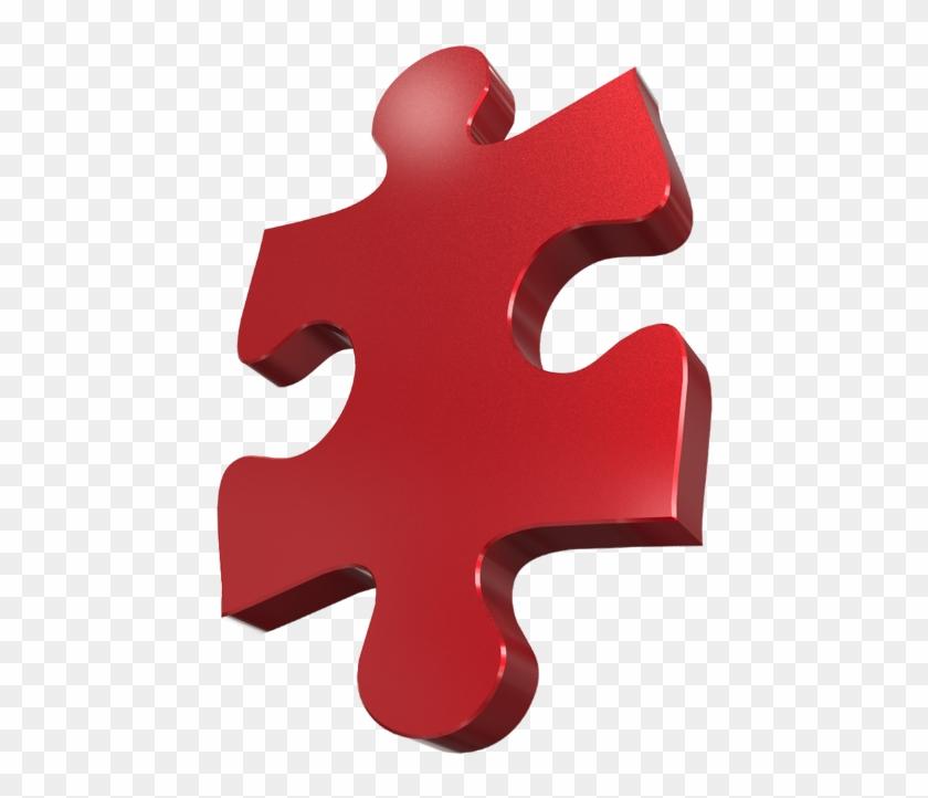 3d Puzzle Piece [png 800x800].