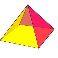 3d Pyramid Shape.