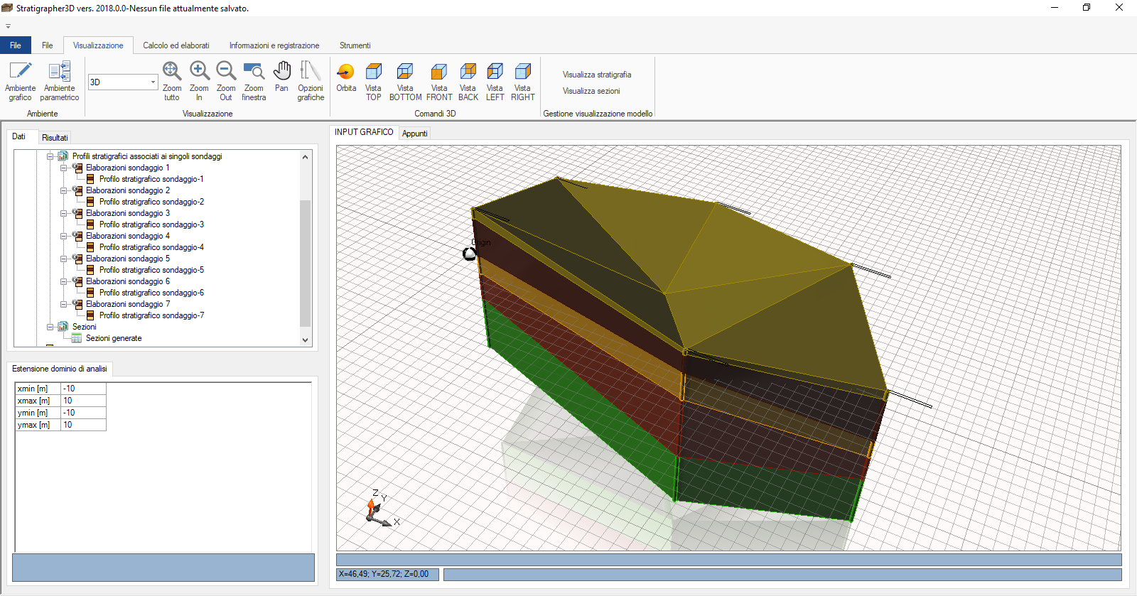 Geological & Geotechnical Modeling 3D.
