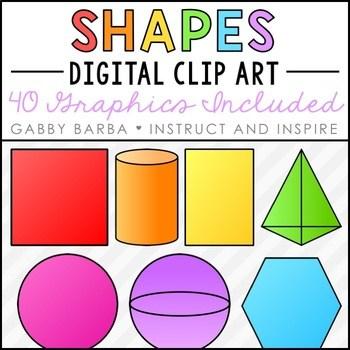 3d shapes clipart 9 » Clipart Portal.