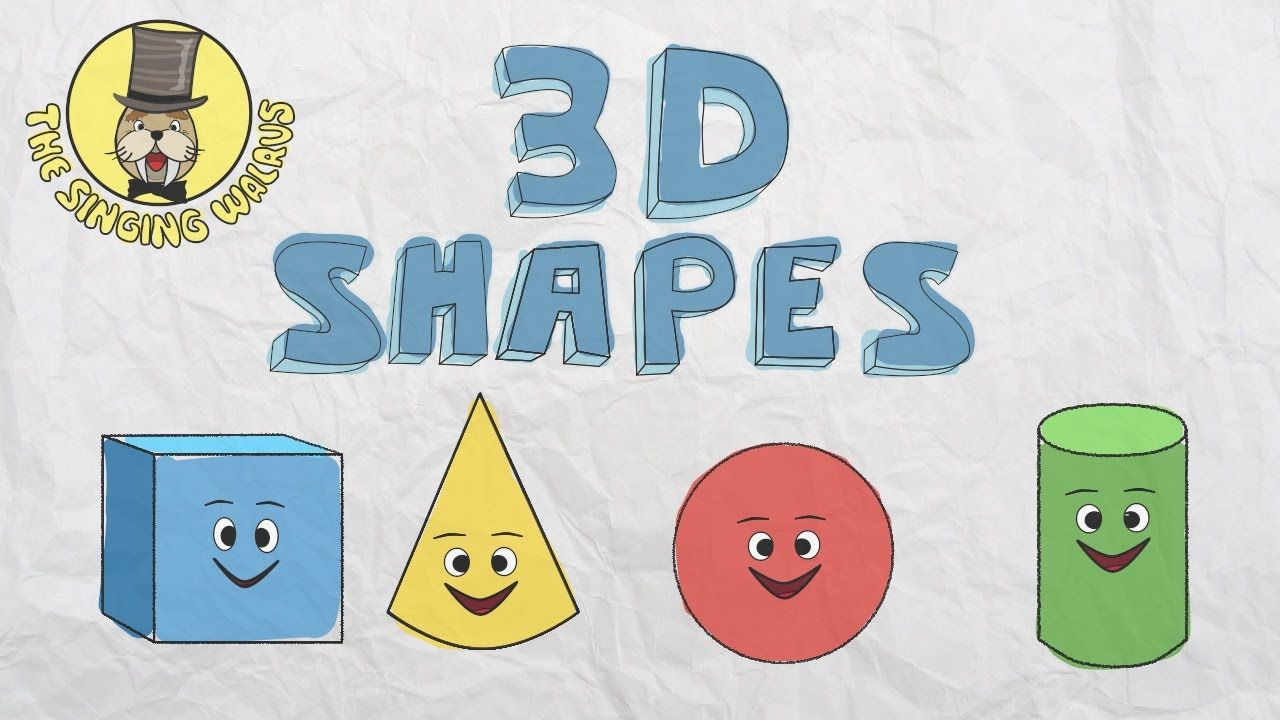 3D Shapes Song.