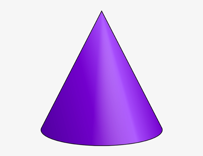 Cone 3 D Shape.