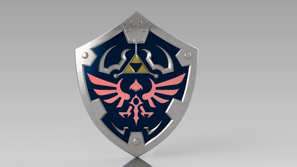 Hylian Shield (Twilight Princess).