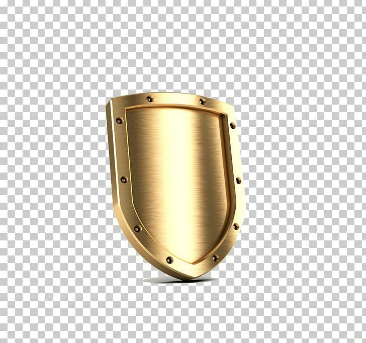 Shield Gold PNG, Clipart, 3d Computer Graphics, Brass, Captain.