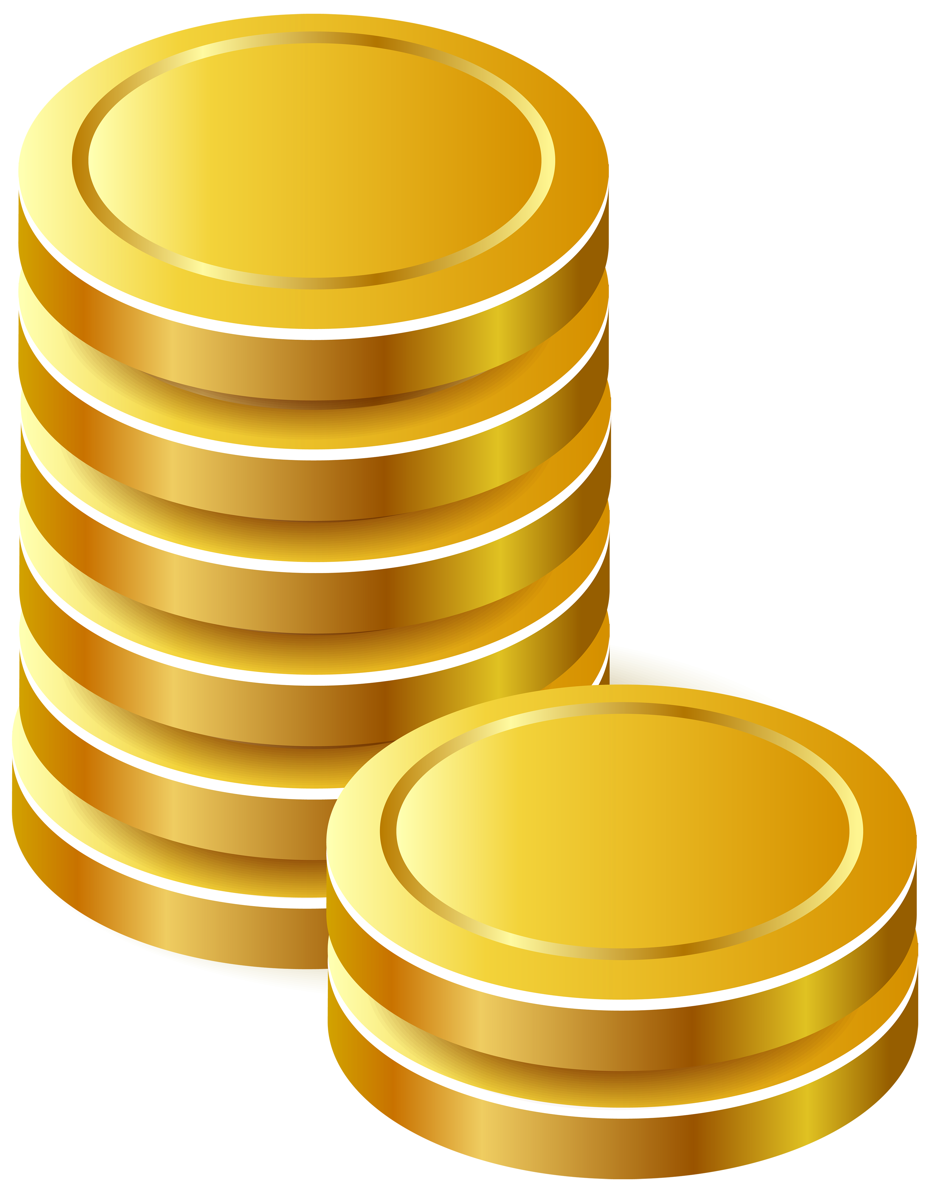 Download Gold Coins PNG Image for Free.