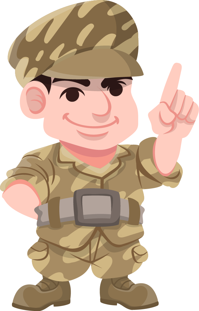 Soldier Clipart.