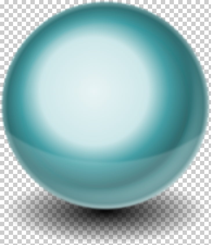 Sphere 3D computer graphics Ball , Free Orb s PNG clipart.