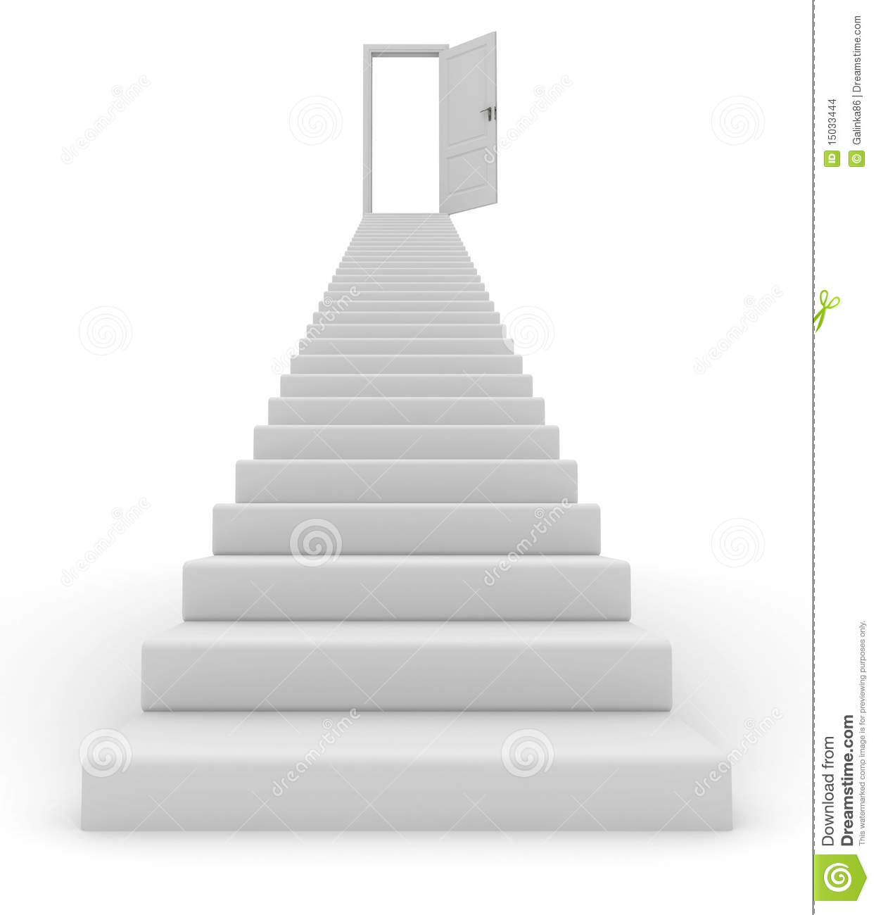 1987 Stairs free clipart.