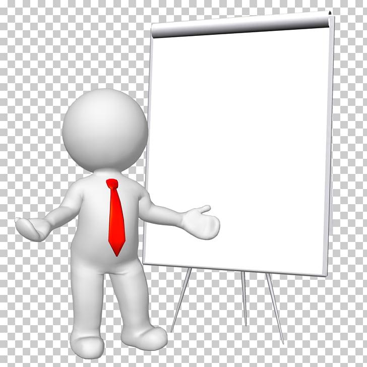 Stick figure , 3d, standing person beside projector canvass.
