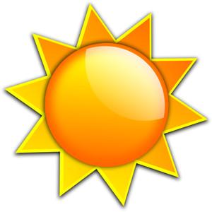 3d Sun Clipart.