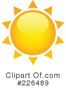 3d Sun Clipart #1.