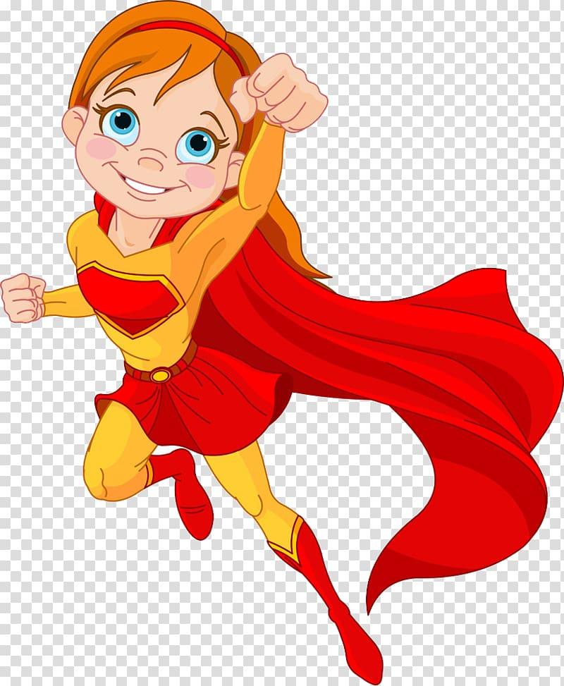 Female superhero , Clark Kent Superwoman Superhero Cartoon.