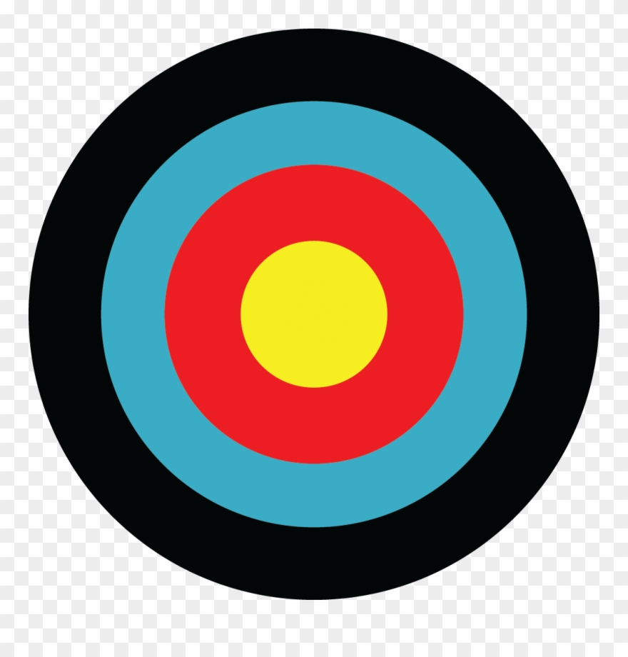 Archery Target Png Clipart (#1658834).