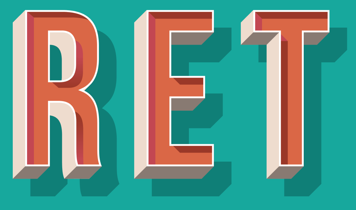 Learn How To Create A Retro 3D Text Effect.