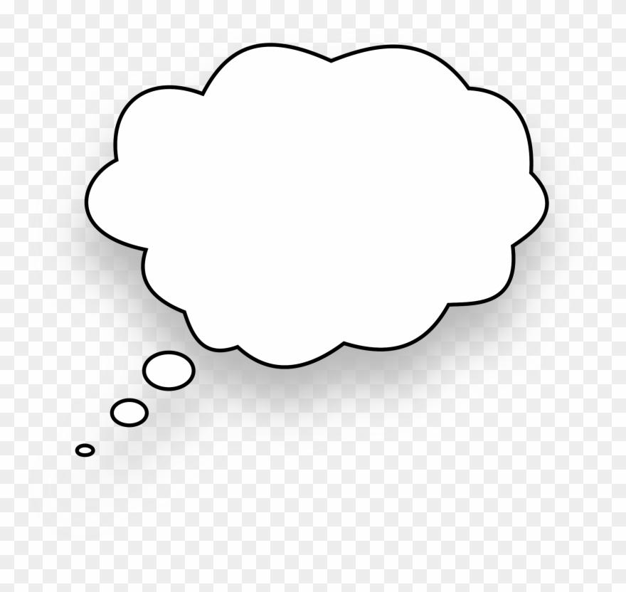 Speech Balloon Thought Download Line Art Bubble.
