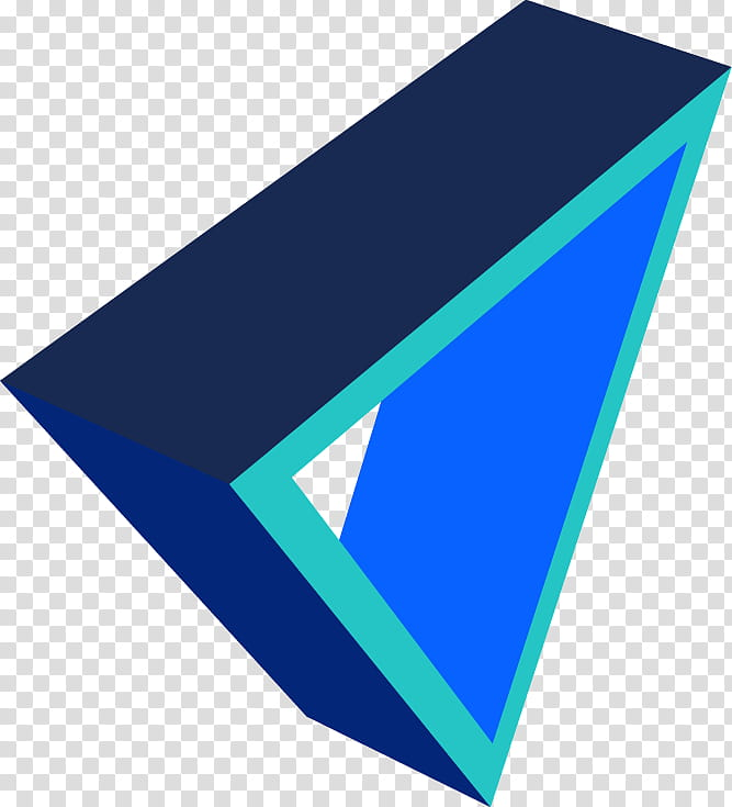 Triangles D , D triangle icon transparent background PNG.