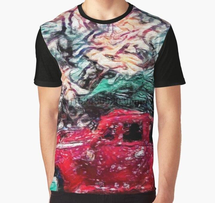 All Over Print 3D Tshirt Men Funny T Shirt Car Clipart.