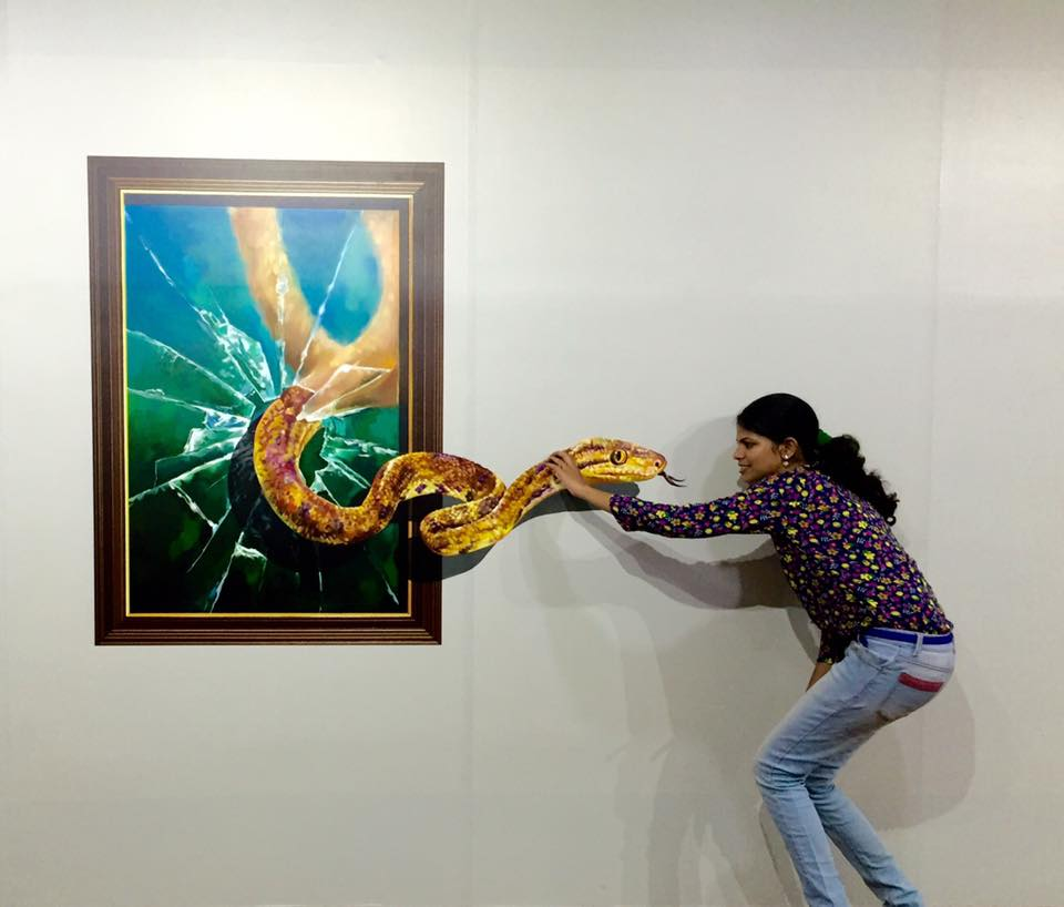 India's First 3D Art Museum Opens in Chennai.