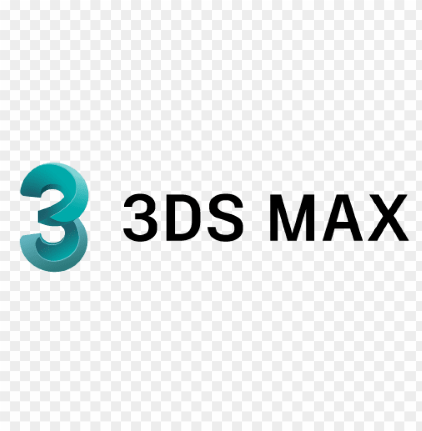 logo 3ds max PNG image with transparent background.