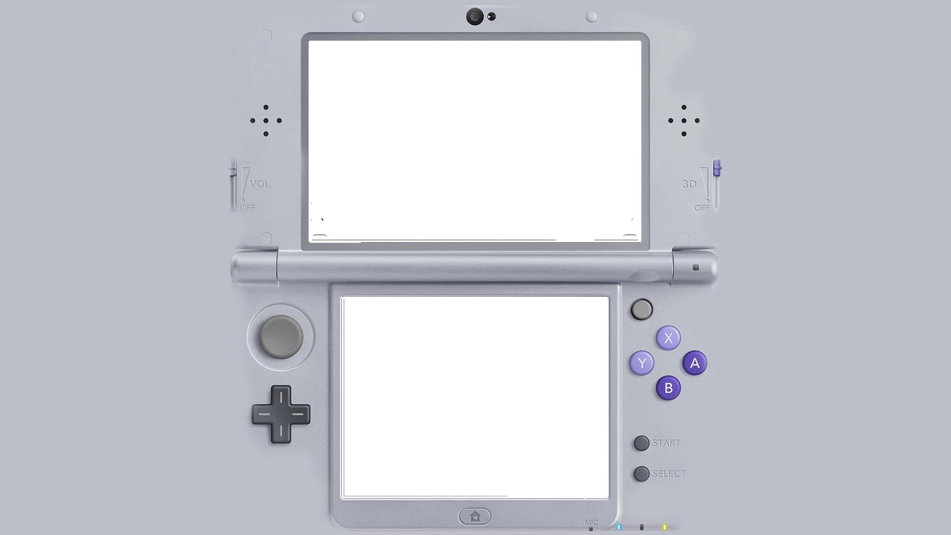 Nintendo 3ds overlay.