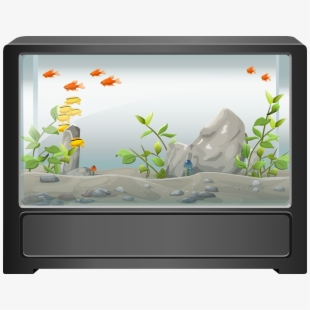 Download Fish Tank Graphic Clipart Goldfish Aquarium.