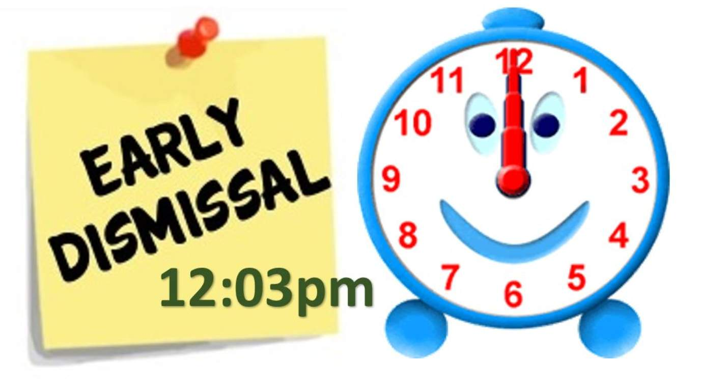 3 hour early dismissal clipart clipart images gallery for.