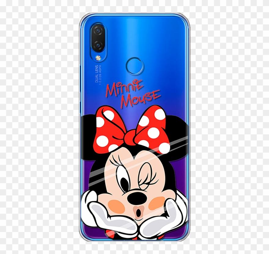 For Huawei Nova 3i Case Cartoon Silicone Soft Clipart.