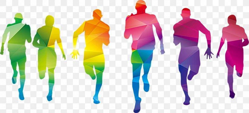 Color Fun Run Graphic Design Sport, PNG, 1397x634px, Color.