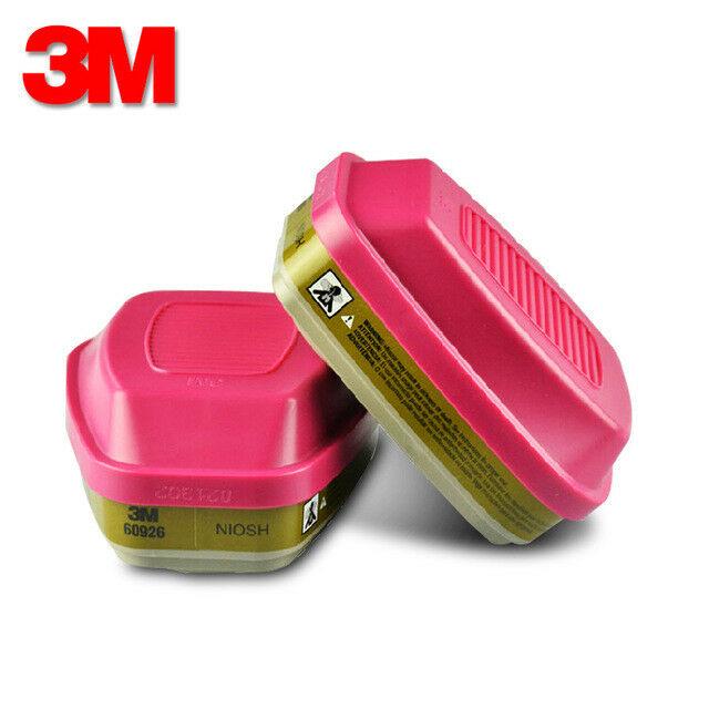 3M 60926 Multi Gas/Vapor P100 Replacement Respirator Cartridge/Filter, 10  Pairs.