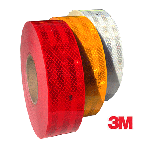 3M Conspicuity Tape in 12.5m & 50m.