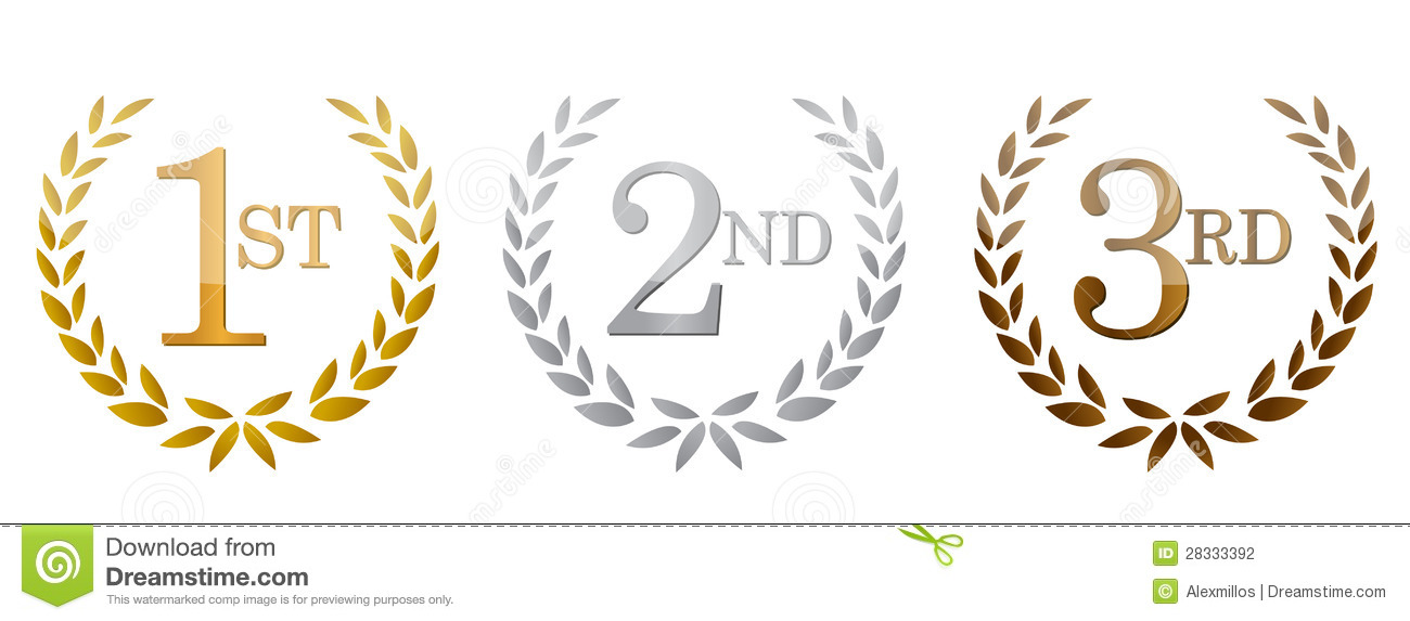 3rd place clipart.