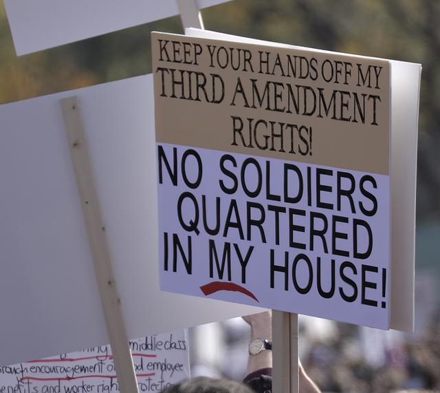 3rd amendment clipart.