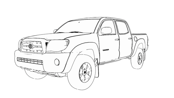 3rd gen tacoma clipart clipart images gallery for free.