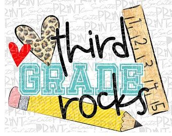 Third grade rocks.